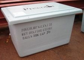One Piece Water Storage Tanks by Precolor Sales Ltd.