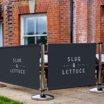 Cafe Barriers – Adfresco Premium Range by Cafe Menu Systems