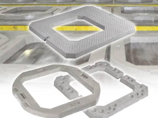 Seating Rings/Adjusting Units by Elite Precast Concrete Ltd – Concrete Blocks & Wall Systems