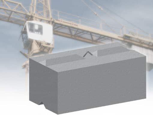 Counterweight Blocks by Elite Precast Concrete Ltd – Concrete Blocks & Wall Systems