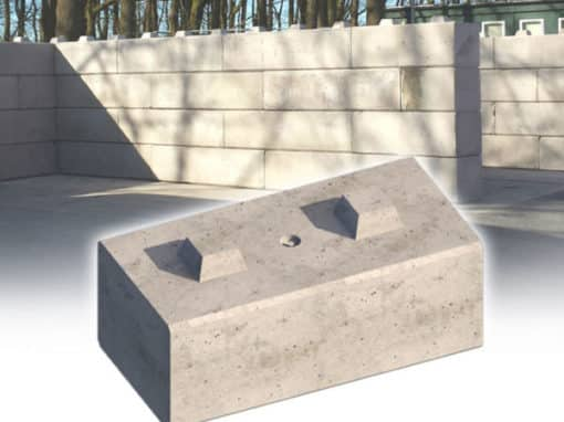 Duo™ Interlocking Concrete Blocks by Elite Precast Concrete Ltd – Concrete Blocks & Wall Systems